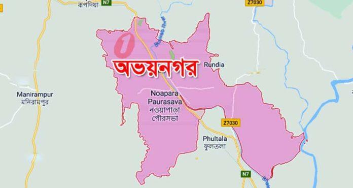 abhaynagar jessore map