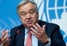 antonio guterres - us united nation